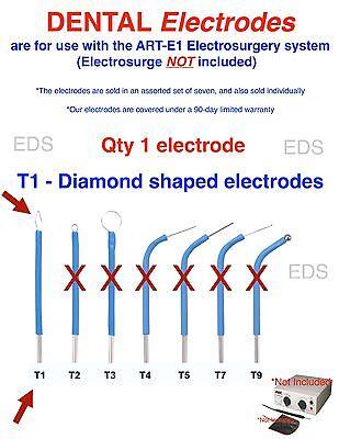 Bonart T1  Dental Electrode - Use With The Art-e1 Electrosurgery System