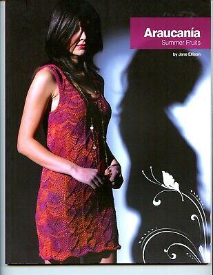 Araucania Summer Fruits - Jane Ellison Knitting Pattern Book - 12 Patterns (Ellison Pattern)