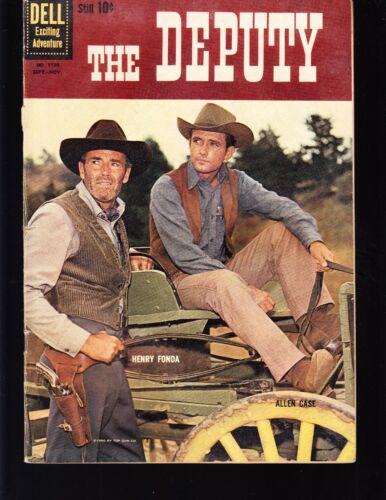 4-COLOR  THE DEPUTY #1130 DELL  1960 VG+  MOVIE/TV...PHOTO-c  HENRY FONDA