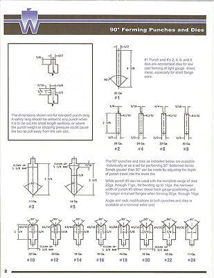 Press Brake Tooling Die 90 Degree Forming Die 18 12 Inch Long
