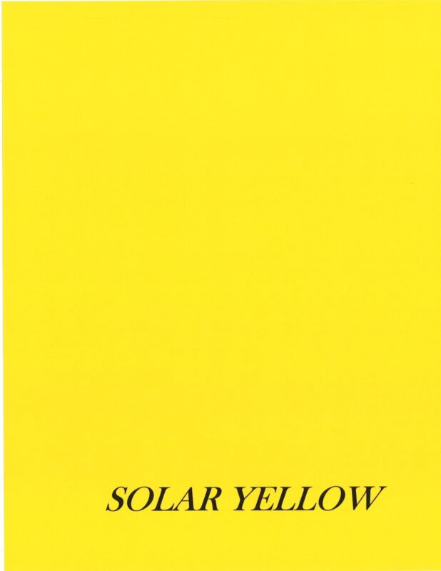 50 Sheets - Astrobright Cardstock - 65# Solar Yellow