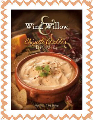 WIND & WILLOW 1 Pk Chipotle Cheddar Dip Mix~For Chips, Veggies, Crackers, Topper - Dip For Crackers