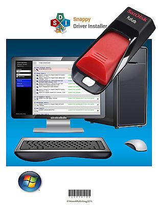 2017 All Windows Drivers For Microsoft Pcs  Auto Install   Updates  16 Gb Usb