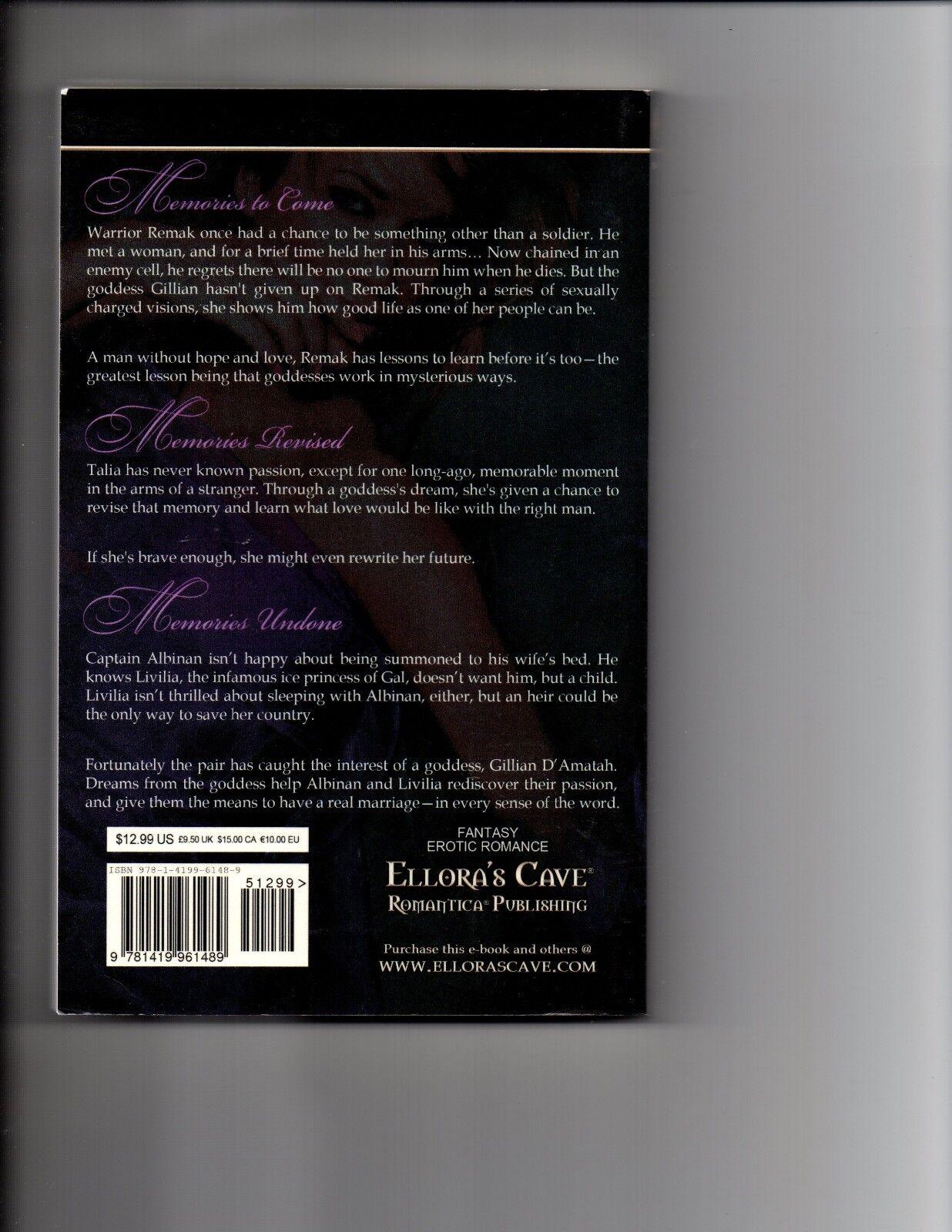 Memories Divine By Cricket Starr 2010, Paperback Ellora s Cave Xanadu - $12.70