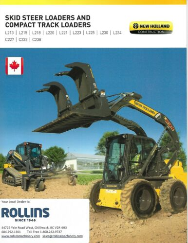 Equipment Brochure - New Holland - Skid Steer Compact Track Loaders 2016 (E6616)