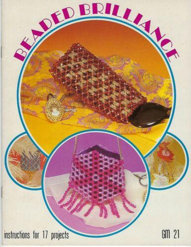 Beaded Brilliance Vintage Beading Patterns Craft Book #GM21