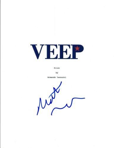 Matt Walsh Signed Autographed VEEP Pilot Episode Script COA VD