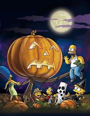 n Halloween Matt Groening Homer Marge Lisa Bart Serie 02 (Los Simpsons Halloween)