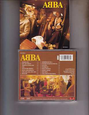 Abba S/T CD 1992 French West German Issue 16 Tracks Waterloo Mamma Mia