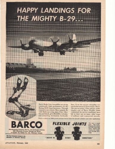 1945 Barco Manufacturing Company Advertisement Chicago, Illinois