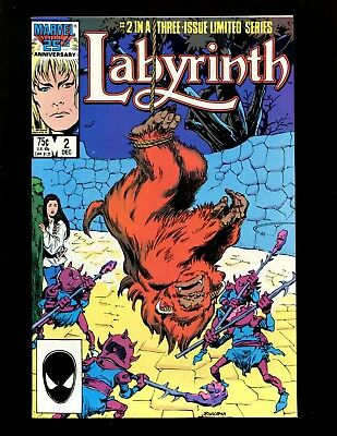 Used, Labyrinth Limited Series #2 VF+ Buscema Tanghal David Bowie Movie Adaptation for sale  Flower Mound