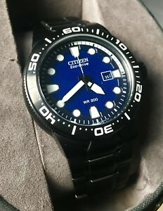 Brand new Citizen Eco-drive divers watch