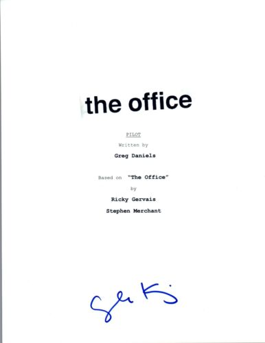 Angela Kinsey Signed Autographed THE OFFICE Pilot Episode Script COA