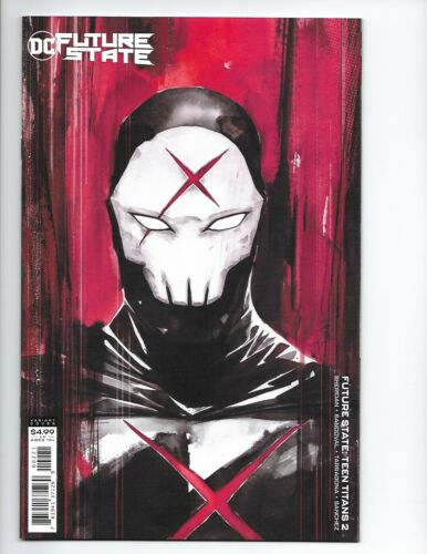 FUTURE STATE TEEN TITANS #2 NGUYEN VARIANT 1st PRINTING RED X CARDSTOCK COVER NM