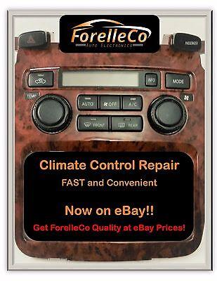 Repair Svc 2001 07 Toyota Highlander A C Heater Climate Control 02 03 04 05 06