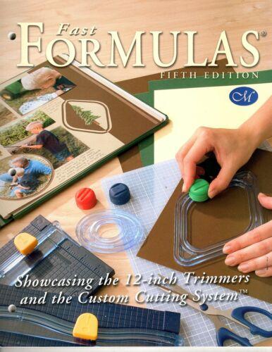 Creative Memories Fast Formulas Scrapbook Layout Idea Book Fifth Edition