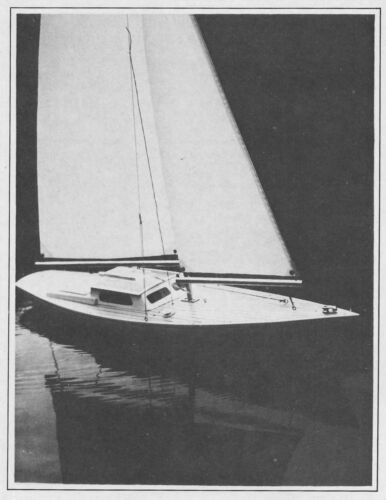 """Ariel RC Sailboat Model Boat Ship Plans, Templates and Instructions 37"""""""
