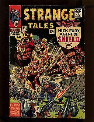 Strange Tales #142 VG+ Kirby Esposito Ditko Doctor Strange Nick Fury