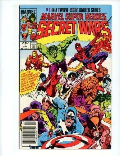 Marvel Super-Heroes Secret Wars #1, FN/VF, 1984 Newsstand