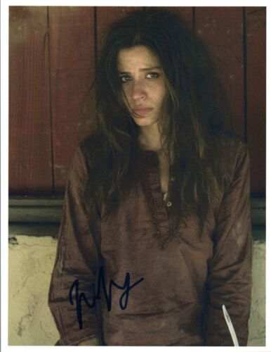 Mercedes Mason Signed Autographed 8x10 Photo Fear The Walking Dead COA VD