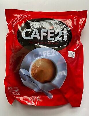 6x Gold Roast Cafe 21 25 sticks x 12g 2 In 1 Instant Coffee Product Of Singapore