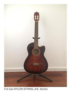 Ibanez Electric Acoustic Nylon String Guitar Lisarow Gosford Area Preview