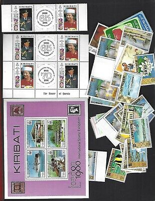 Kiribati sc#572a x3 (1991) MNH + Nice lot