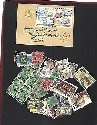 Malta sc#487a (1974) Souvenir Sheet MNH + Nice lot