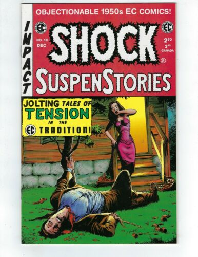 Shock SuspenStories-#18 - Gemstone - EC Reprint   VF/NM