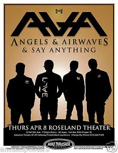 Angels And Airwaves Tour  Uk