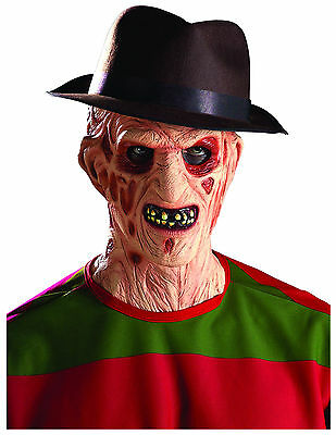 FREDDY KRUEGER HAT! A NIGHTMARE ON ELM STREET ADULT COSTUME RUBIE'S - Rubies Freddy Krueger Kostüm