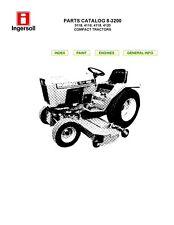 Ingersoll COMPACT LAWN TRACTORS 4118 4120 Repair Parts