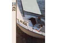 S2 SAIL BOAT 7.3 1998