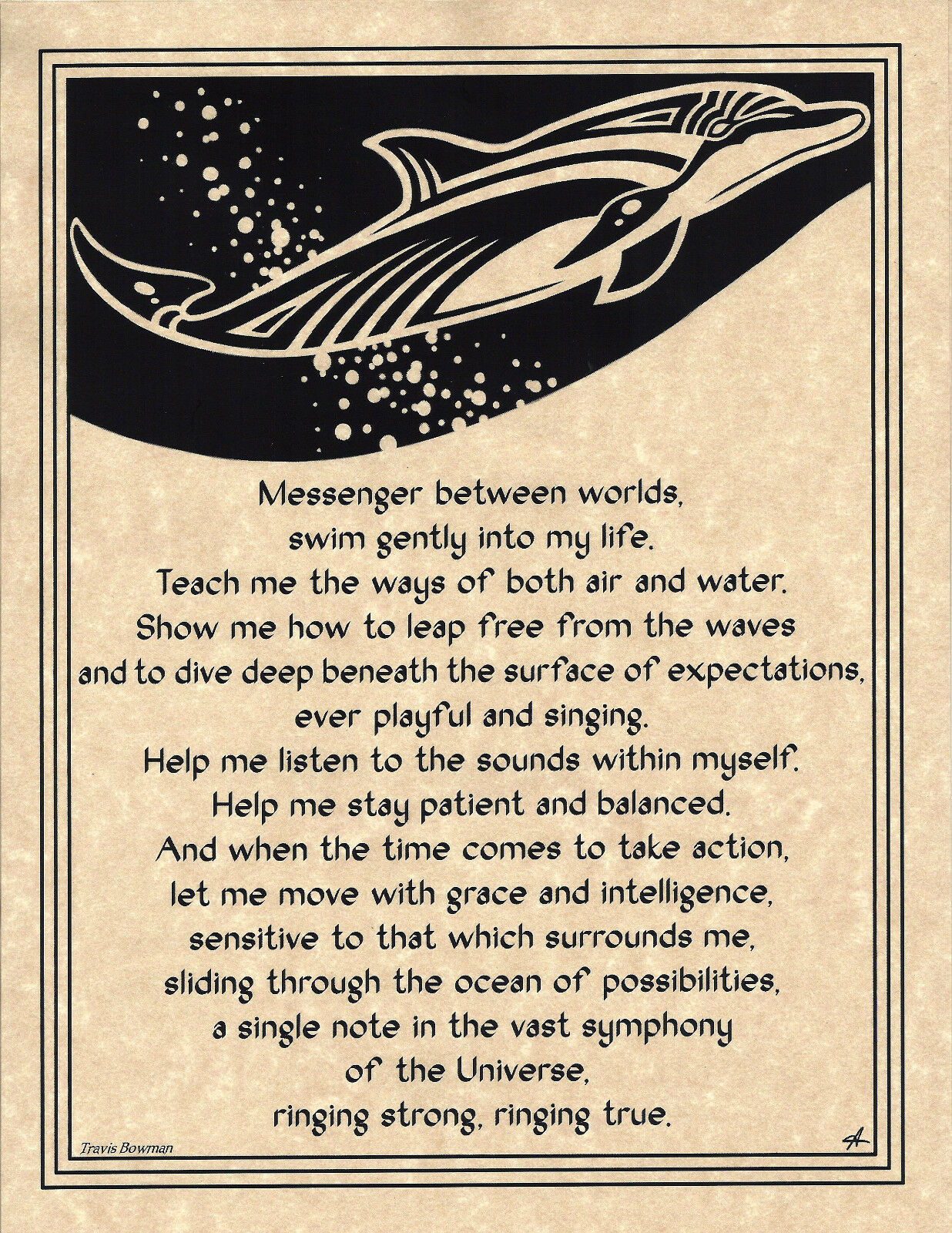 Dolphin animal-totem totem pole spirit guide, dolphin transparent.