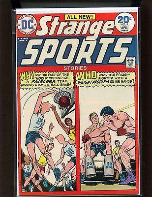 Strange Sports Stories #4 VF- Rosenberger, Novick, Giordano