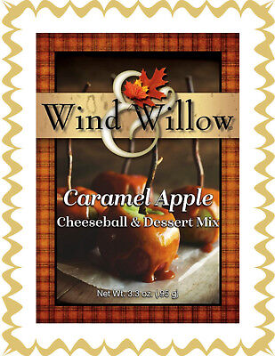 - WIND AND WILLOW Cheeseball/Dessert Mix ~ Caramel Apple ~ Delicious Desserts ~