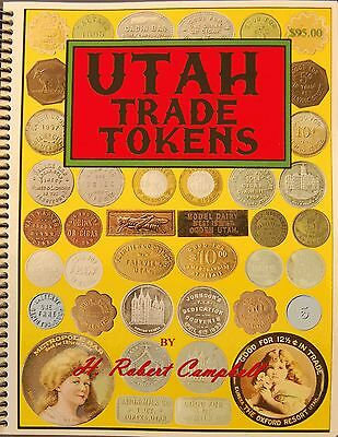 Utah Trade Tokens  2nd Edition  Issued 2013 (Autographed)