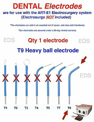 Qty Of 1 T9  Dental Electrode - Use With The Art-e1 Electrosurgery System