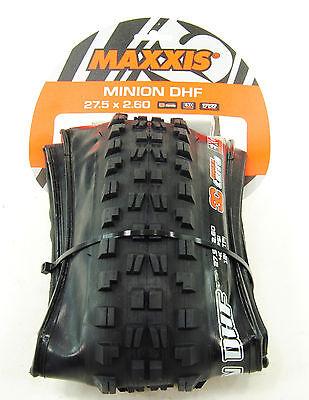 Maxxis Minion DHF 3C Maxx Terra EXO Tubeless Folding Tire 27.5 x 2.6