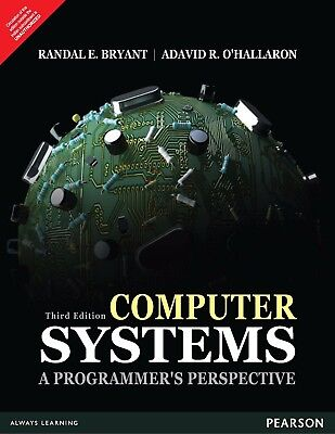 Computer Systems  A Programmers Perspective  3 E By Bryant  Dhl Ship