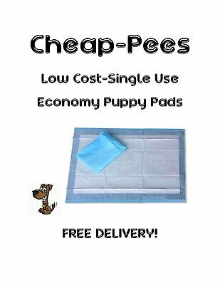 Cheap-Pads Low Cost Economy Puppy Training/Under Pads -