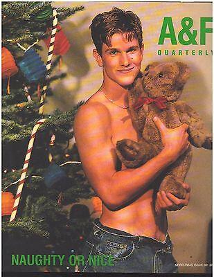 Abercrombie & Fitch 1999 Christmas Catalog A&F Quarterly Bruce Weber