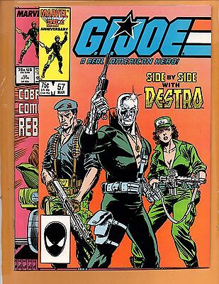 G.I. Joe, A Real American Hero #57 NM & 58 VF+