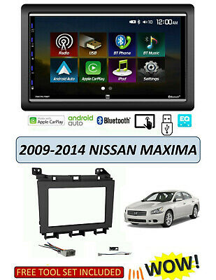 Nissan Maxima Auto Stereo (NEW fits 2009-2014 NISSAN MAXIMA Stereo Kit, Apple CarPlay Android Auto )