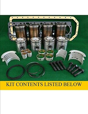 Pbk404 N844l Shibaura Inframe Engine Overhaul Kit Sr170 410 D45 Dx48 3415 Tc45