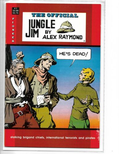 The Official Jungle Jim by Alex Raymond #1