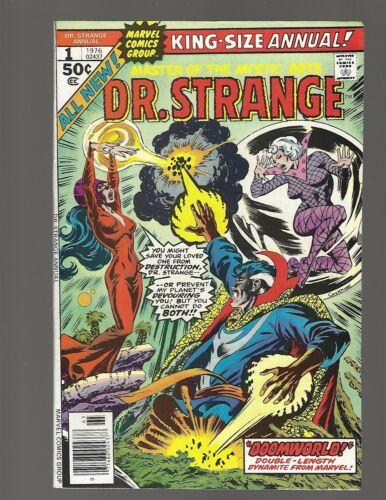 Dr Strange Annual #1 Doomworld