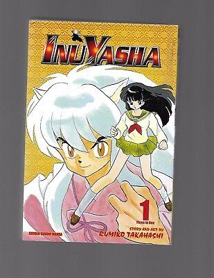 InuYasha 3 in 1 by  Rumiko Takahashi Vols. 1-3    #369