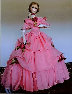 1864 Civil War Era Ball Gown Sewing Pattern for 24 Inch Fashion Doll #82
