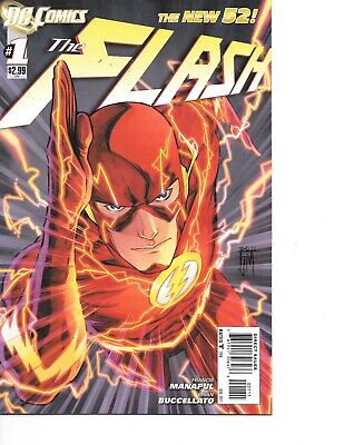 Flash #1 The New 52 DC 2011  (New Flash 52)